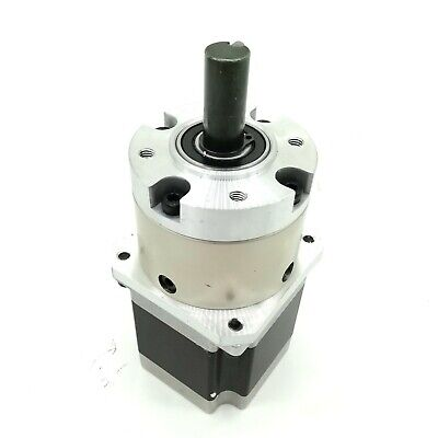 Nema23 Planetary Geared 4.25:1 Stepper Motor Hybrid Bipolar Type 56mm Depth