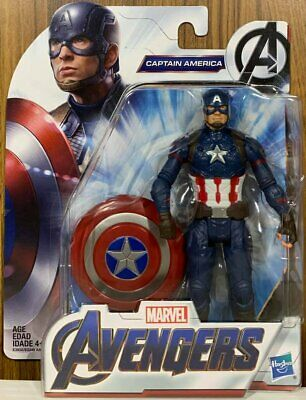 "HASBRO MARVEL AVENGERS ENDGAME 6"" INCH [CAPTAIN AMERICA SUIT] Action Figure"