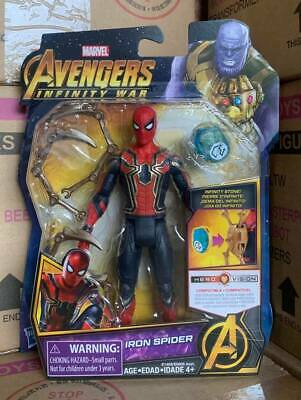 "HASBRO MARVEL AVENGERS INFINITY WAR INFINITY STONE 6"" [IRON SPIDER] in stock"