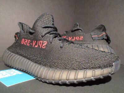 Adidas Yeezy Boost 350 V2 Kanye West Core Black Red Stripe 700 Cp9652 New 8.5
