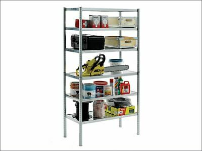 S450-31 Galvanised Shelving with 6 Shelves RAA135573
