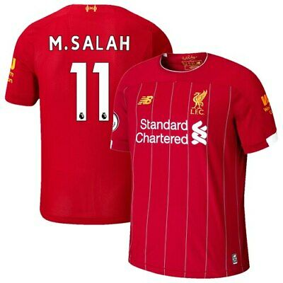 Mohamed Salah Liverpool New Balance 2019/20 Home Replica Player Jersey - Red