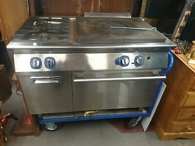 Electrolux Commercial Stainless Stell Gas Range Cooker