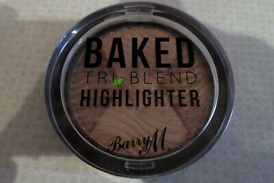 Barry M Baked tri-blend highlighter.bronze Deco.Brand new in cellophane