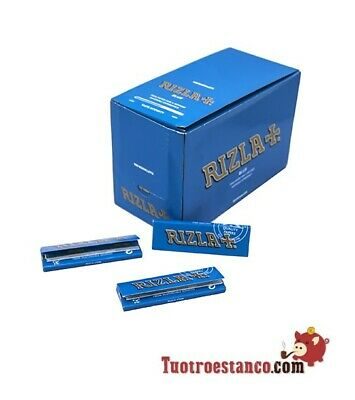 Carta Rizla + Blu 70 mm - 100 libretti