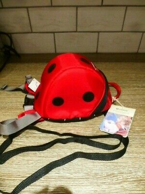 Brand New.. Little Life  ladybird backpack reins, day sack, parent handle.