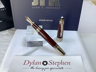 montblanc great characters special edition John F. Kennedy fountain pen NEW
