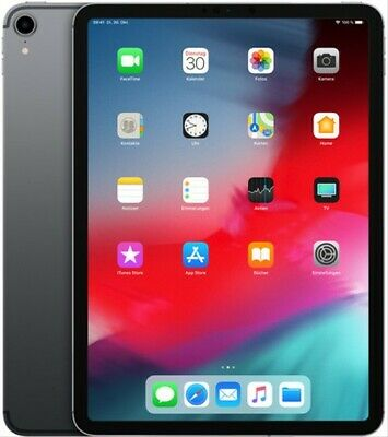 "Apple iPad Pro 11"" 256GB [Wi-Fi + Cellular, Modell 2018] space grau"