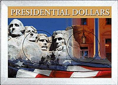 HE Harris Presidential Dollars Frosty Case - Two Hole, 2x3
