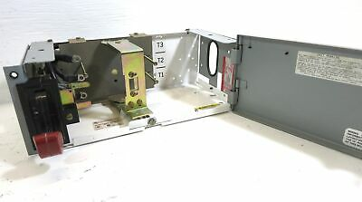 "GE 8000 Series 100 Amp Breaker Type 6"" MCC Feeder Bucket Motor Control Unit 100A"
