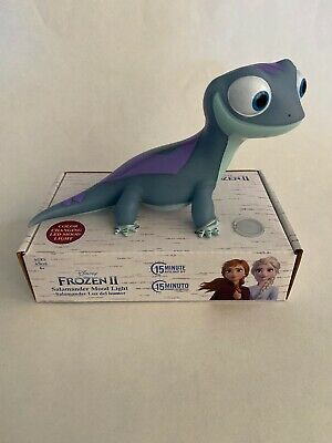 Disney Frozen 2 Bruni The Salamander Mood Color Changing Night Light!