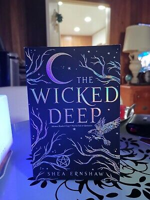The Wicked Deep ✎SIGNED✎ by SHEA ERNSHAW New Haunting /& Chilling Hardback