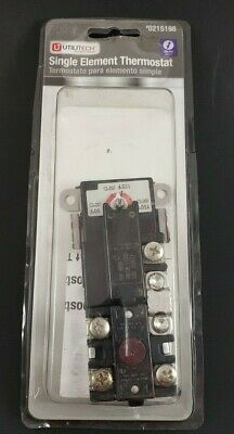 Electric Thermostat For Single Element Water Heater 61294