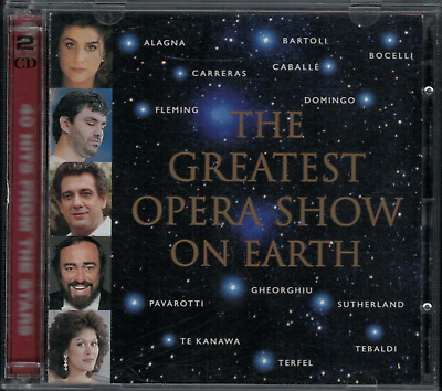 VARIOUS CLASSICAL / OPERA ARTISTS - The Greatest Show on Earth - 1997 DECCA 2CD