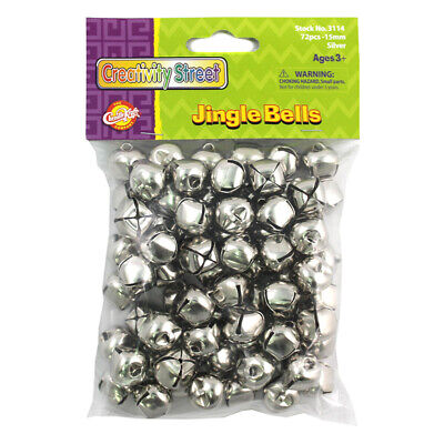 Creativity Street (6 Pk) Jingle Bells Class Pk Silver