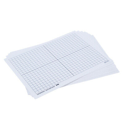 Learning Advantage (3 St) Xy Axis Dry Erase Boards 10