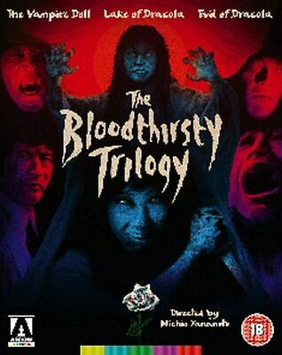 The Bloodthirsty Trilogy Blu-Ray [Uk] New Bluray