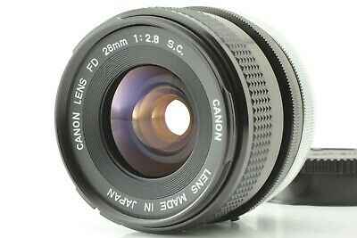 [NEAR MINT] Canon FD 28mm f/2.8 S.C. SC Wide Angle MF Lens SLR From Japan #42