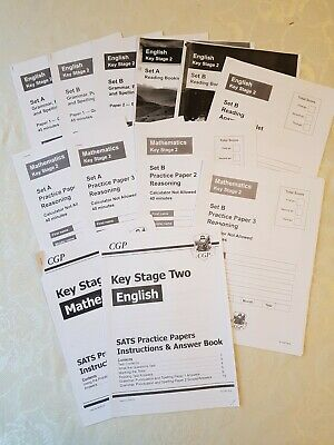 Key Stage 2 CPG Practice SATS/11+ English And Maths Test Papers And Answers