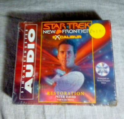 Unopened Star trek audio book