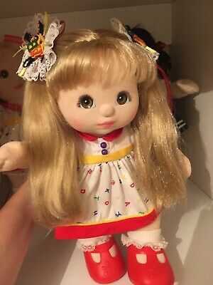 My Child Doll 1988 Ribbons And Bows Original ABC Dress Knickers Red (outfit Only