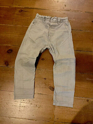 Toddler Boys Next Chino Skinny Twisted Carrot Trousers Age 3
