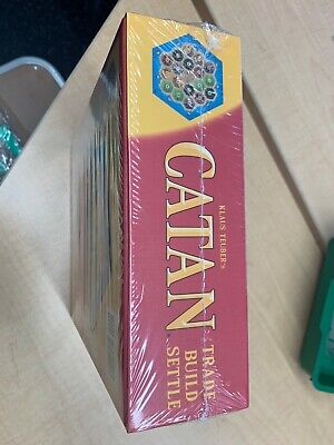 Catan CN3071 Standard Board Game NEW Unopened