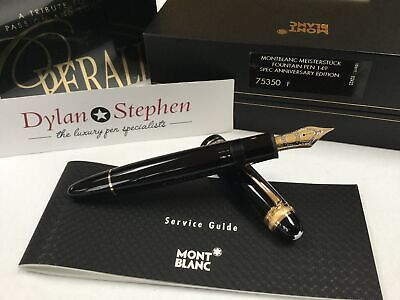 Montblanc meisterstuck 75th anniversary special edition 149 fountain pen