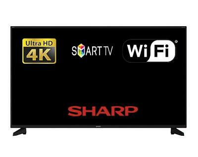 "Sharp 40AJ6KE 40"" 4K Ultra HD LED Smart TV In Active Motion 400 And Aquos Net +"