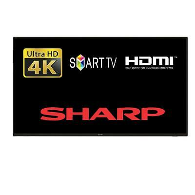 "Sharp 40AJ6KE 40"" Smart LED TV 4K Ultra HD In Active Motion 400 Missing Stand"