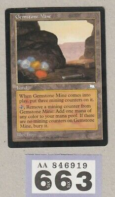 MTG Magic the Gathering - Gemstone Mine - Weatherlight