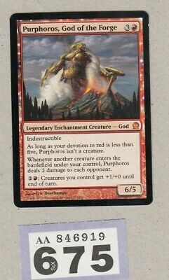 MTG Magic the Gathering - Purphoros, God of the Forge - Theros