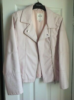 Gorgeous Girls' Faux Leather Jacket From M&S Age 13-14 Yrs