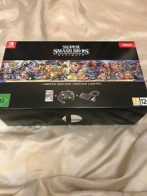 Super Smash Bros. Ultimate Limited Edition (Nintendo Switch) It The Box only