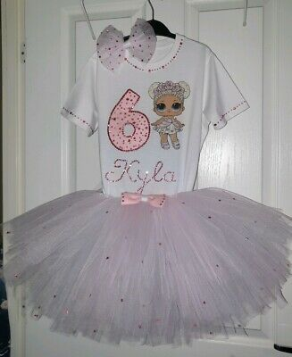 Personalised Birthday Outfit 3 pcs LOL surprise dolls Flower Child outfit