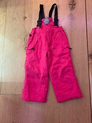 Parallel Girls Ski Salopettes/trousers Age 2-3years