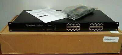 BV Tech BV-SW1600G, 16-Port Rackmount Gigabit PoE+Switch FREE SHIPPING!
