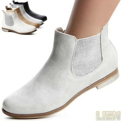 Mujer Chelsea Boots Botines Botas Botines Zapatos Mujer