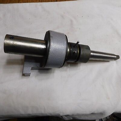 Stationary Arbor Assembly for Steel Hawg Bit with Morse Taper