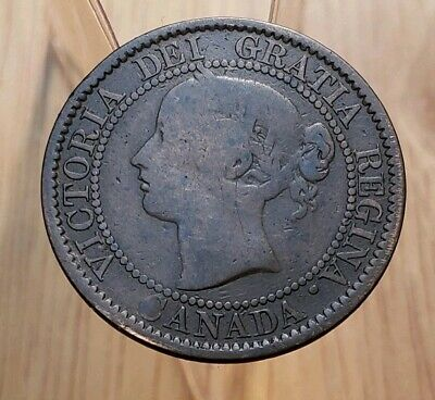 Canada 1859  Queen Victoria Large Cent