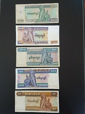 Central Bank Of Myanmar Banknotes