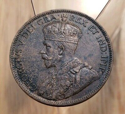 Canada 1918 King George V Large Cent--High Grade