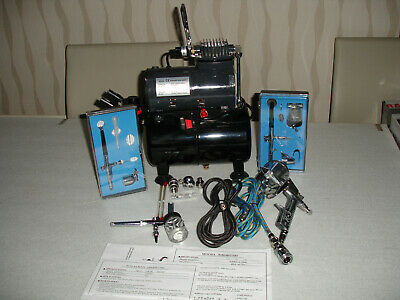 SwitZer Airbrush Compressor with extra accessories (Only used twice)