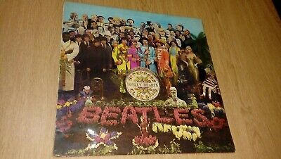 The beatles vinyl lp record sgt pappers lonely hearts club band