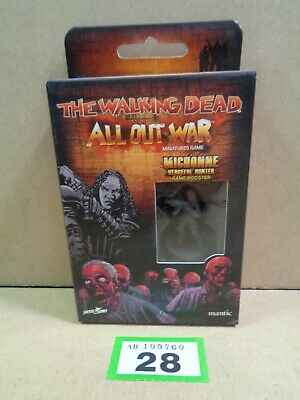 Mantic The Walking Dead All Out War Michonne Vengeful Hunter Booster BNIB 28