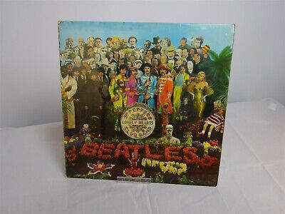 Vintage Beatles LP/Vinyl 'Sgt Peppers Lonely Hearts Club Band', 1967 EMI Mono