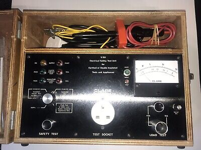 Clare V.154 Electrical Safety And Function Tester PAT tester.