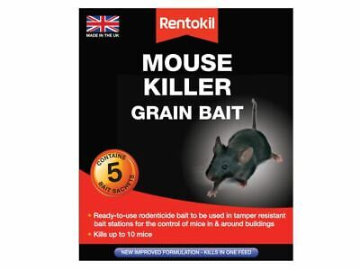 Mouse Killer Grain Bait 5 Sachets RKLPSM21