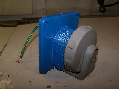 Hubbell 20 Amp 250 Vac Receptacle 3 Wire 2 Pole 320R6W
