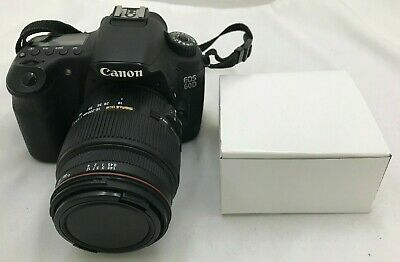 Canon EOS 60D DSLR Camera + Sigma 18-200mm Lens with Battery and Charger (48-2B)
